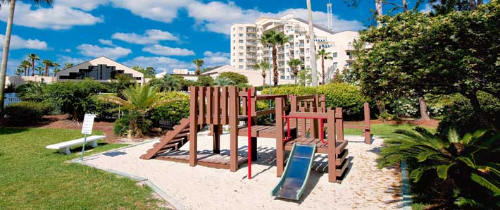Enclave Suites Play Area