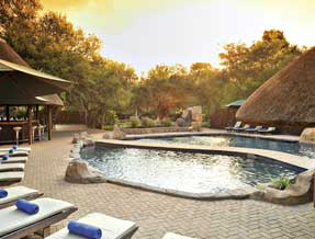 Shiduli Private Game Lodge pool