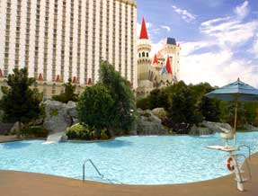 Excalibur pools & cabanas