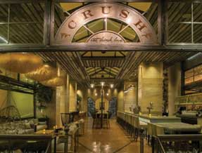 CRUSH restaurant at the MGM