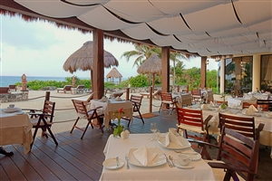 Dining at Occidental Grand Xcaret Resort