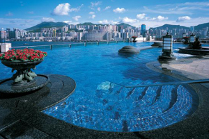 Grand Harbour rooftop pool