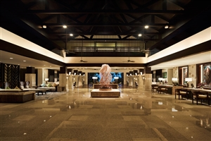 Shangri-La's Rasa Ria Resort reception