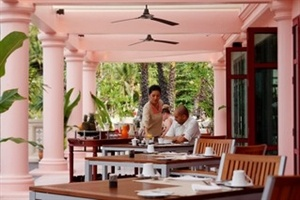 Outdoor dining at Centara Grand Beach Phuket