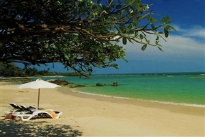 Centara Villas Samui private beach