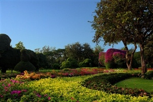 Lush gardens at Centara Grand Resort and Villas Hua Hin