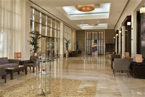 Lobby at Amwaj Rotana