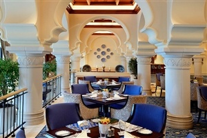 Restaurant options at Arabian Court Royal Mirage