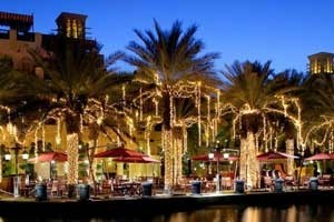 Outdoor Dining at Madinat Jumeirah