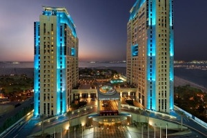 Habtoor Grand by night