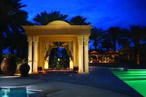 Pool area at Residence & Spa at One&Only Royal Mirage
