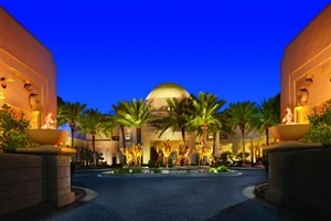 Entrance to The Palace at One&Only Royal Mirage
