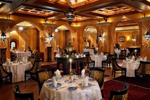 Restaurant choices at The Palace at One&Only Royal Mirage