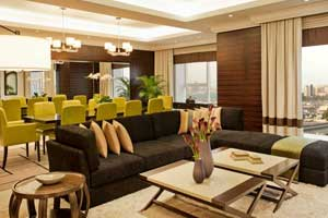 Royal Suite living area