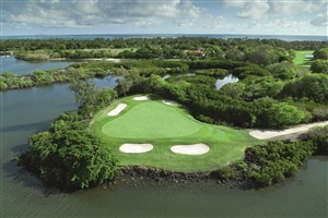 Golf course at Constance Belle Mare Plage