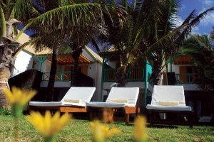 Relax on a sunlounger at Tropical Attitude Mauritius