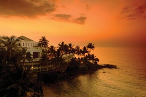 Sunset at Mount Lavinia Hotel Sri Lanka
