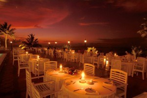 Sunset dining at Mount Lavinia Hotel