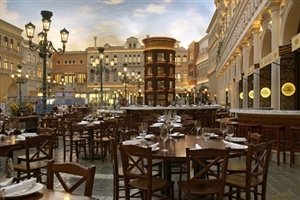 Dining option at the Venetian
