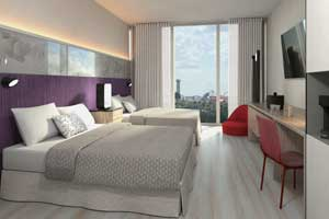 Universal's Aventura Hotel accommodation