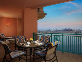 Terrace Club Suite at Atlantis The Palm