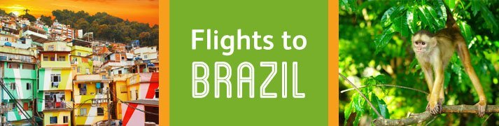 Cheap flights to Brazil