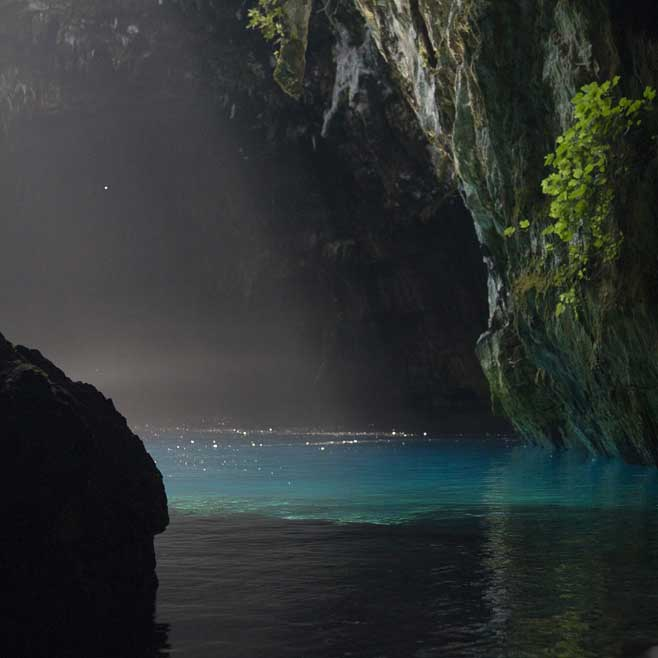 Melissani Cave Greece