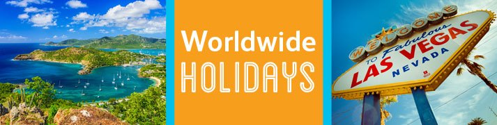 Cheap worldwide holiday deals