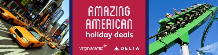 USA holidays with Virgin Atlantic / Delta Air Lines