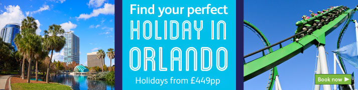 Great deals on Orlando holidays here