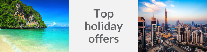Great worldwide holiday deals
