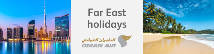 Holiday sale with Oman Air & Netflights.com