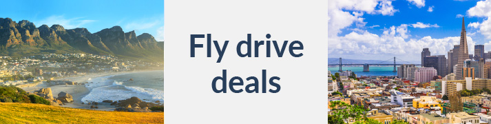 Fantastic deals on fly drive holidays