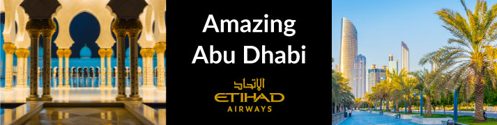 Great holiday deals with Etihad Airways