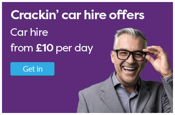 Crackiin' car hire offers