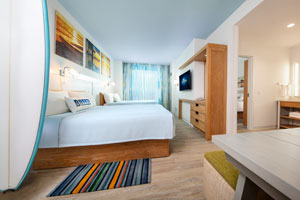 Universal's Endless Summer Resort – Dockside Inn and Suites room