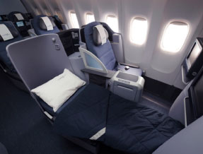 Business Class United Airlines
