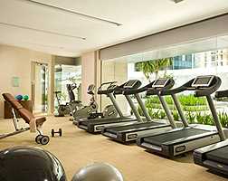 St Regis Singapore Gym
