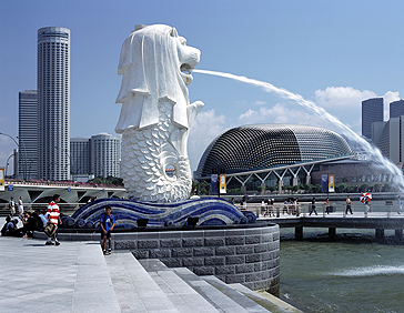 St Regis Singapore Merlion