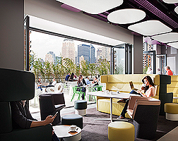 Yotel New York Lounge